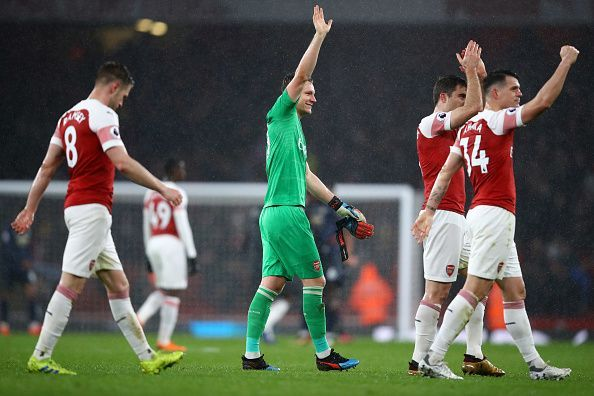 Arsenal Dominate Manchester United In First Win For New Manager Arteta